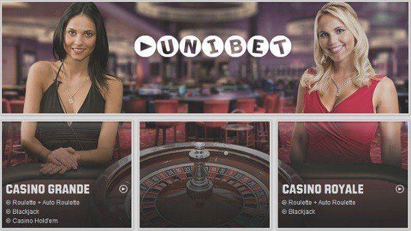 Live Casino hos Unibet till iPad
