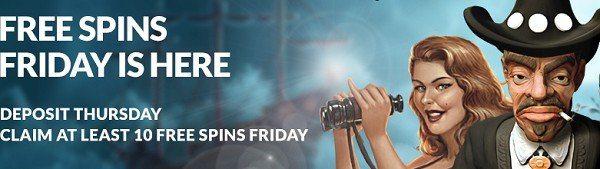 Free spins fredag hos Guts