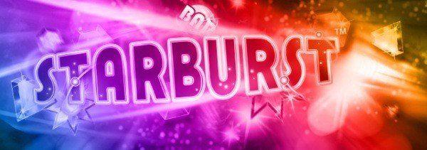 3 freespins på Starburst