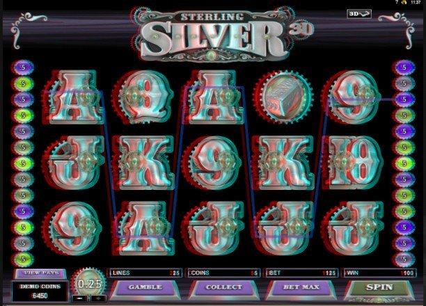 Sterling Silver - Världens första riktiga 3D-slot