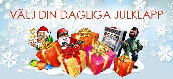 Julklappar varje dag på Sverigeautomaten