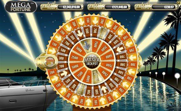 20 Free Spins på Mega Fortune!