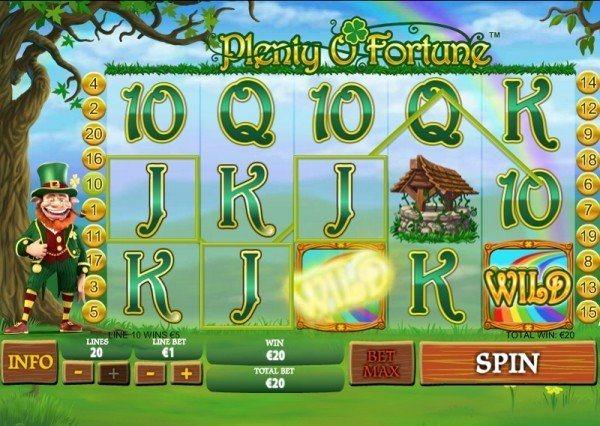 Ut och leta Guldgrytor I Casinospelet Plenty of Fortune - Vi ger dig 100 SEK