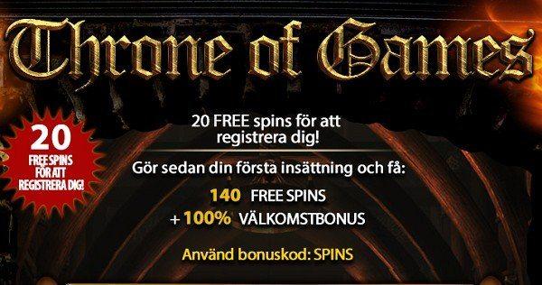 160 free spins hos Eucasino och CasinoRedkings