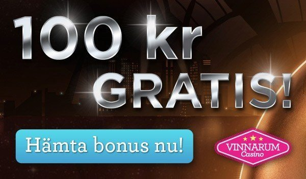 VINNARUM BJUDER PÅ 100 KRONOR GRATIS