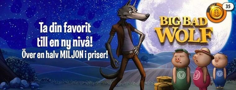 Nya belöningsmotorn blåser nytt liv i Big Bad Wolf!