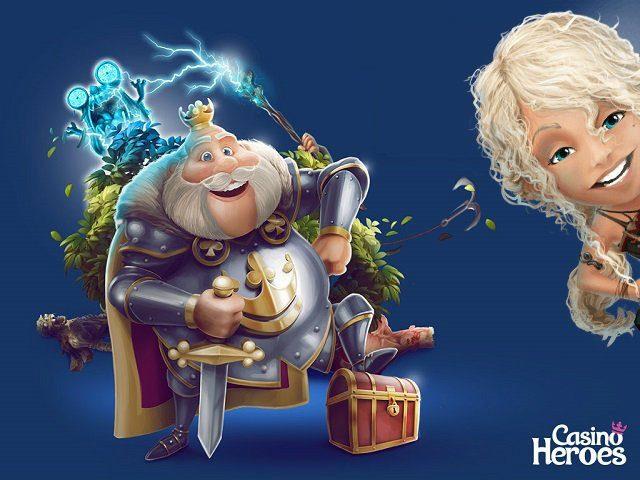 Kungen har fått världspremiär på NetEnts nya casinospel!