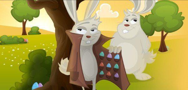 Chokladkladdiga bonusar hela april i häftigt casino på nätet!