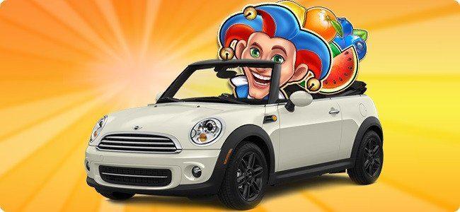 Vinn bil, prylar, cash och free spins utan omsättningskrav hela sommaren!