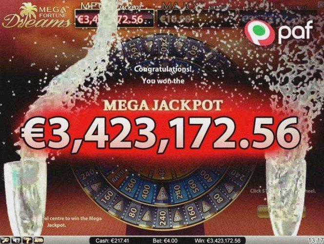 Mega Fortune Dreams vinnare 2016 identifierad