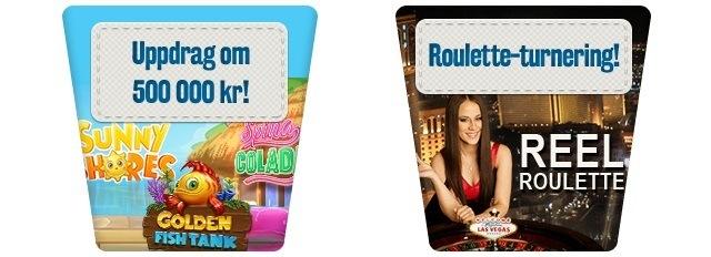 Fram med din Android eller iOS-mobil och tävla med Svea Casino!