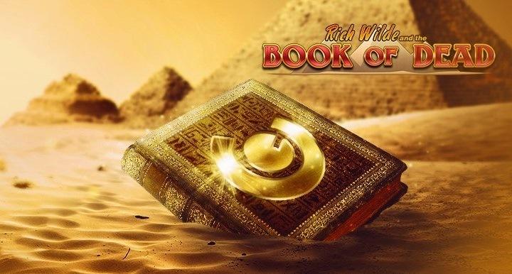 Casinospelen Jungle Books och Book of Dead i fokus hos Guts