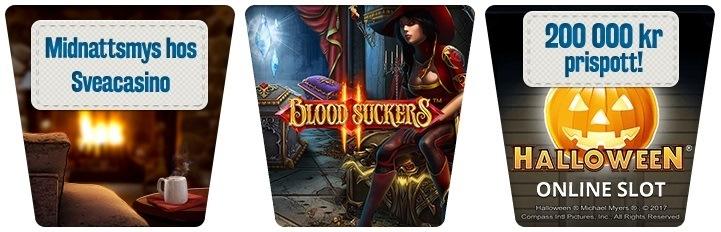 Cashback-bonus i nya Blood Suckers 2 och jackpottjakt!