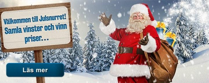 Snurrigt värre i jul hos Sveas casino i mobilen!