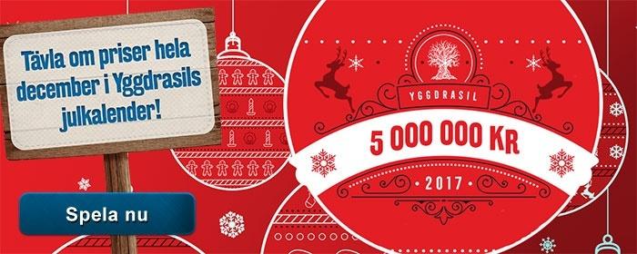 Häng med till mobilcasino för slutspurten av julkalender med casinospel i mobilen!