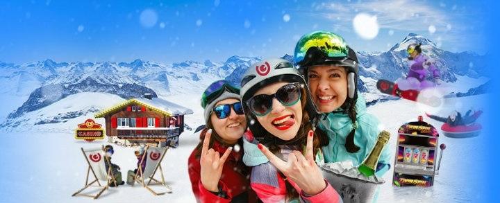 Häng med på Vinterfestival i casinospel för mobilen och hämta hem freespins!