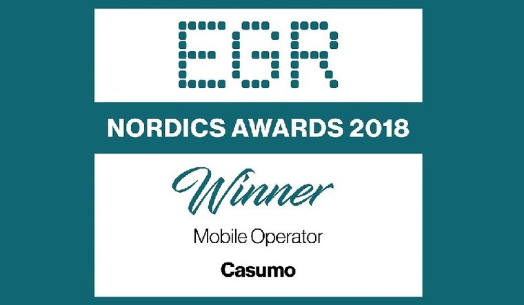 Casumo inleder 2018 som Nordens bästa mobilcasino!