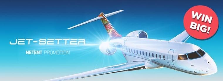Vinn en drömresa med NetEnts Jet-Setter kampanj!