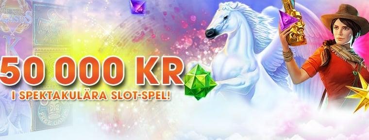 Tävla på nya videoslots fram tills torsdag hos casino på nätet
