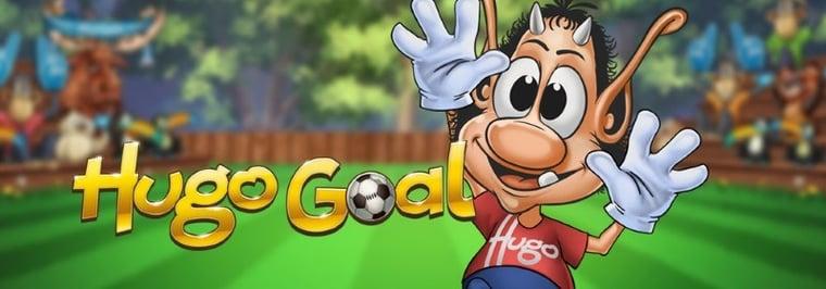 Spela om trofépris på nya sloten Hugo Goal hos svenskt mobilcasino
