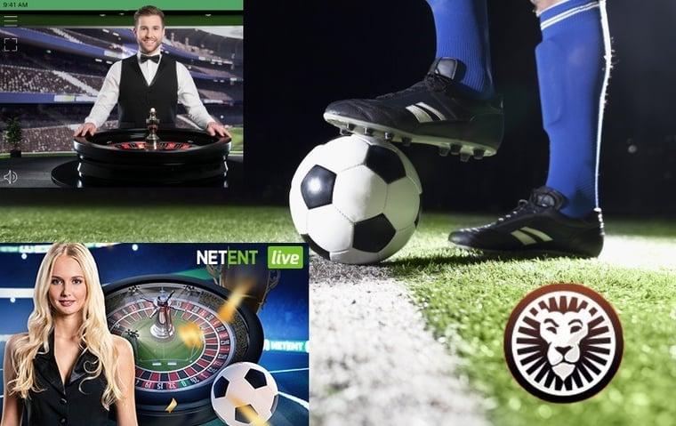 Spela Goal Smash Roulette hos kungen av mobilcasino och vinn kontantpriser