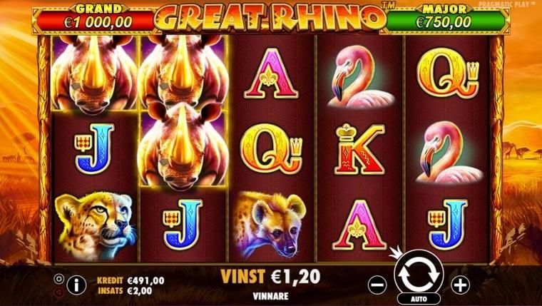 Spela free spins bonusrundor för vinster upp till 10 000 kr
