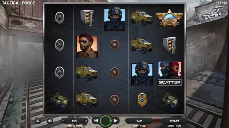 Spela nya Tactical Force och vinn fantastiska gaming-prylar