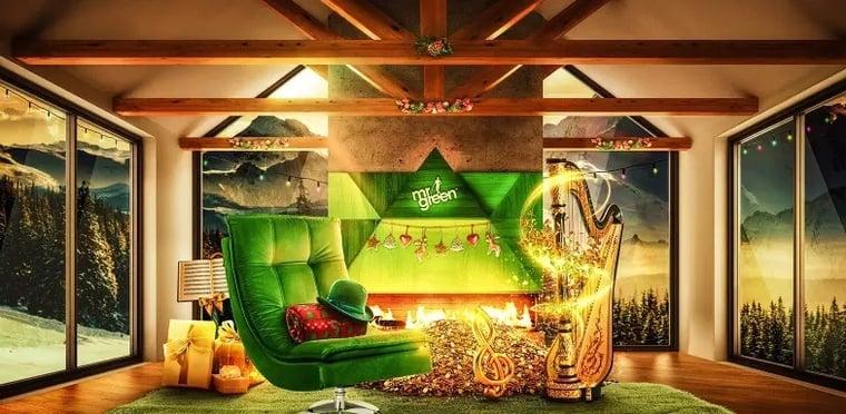 Årets Mr Green julkalender är här tillsammans med 5 jackpottar