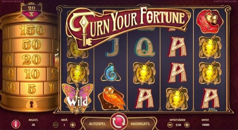 Spelnyhet: Turn Your Fortune videoslot från NetEnt