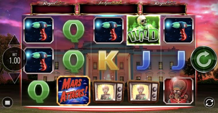 Spelsläpp från Blueprint Gaming: Mars Attacks!