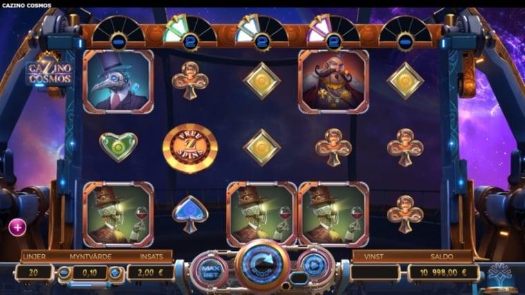 Cazino Cosmos: nyaste spelet från Yggdrasil
