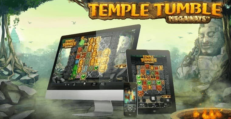 Temple Tumble: nytt spelsläpp från Relax Gaming