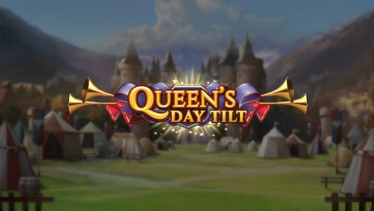 Play'n GO släpper spelnyheten Queen's Day Tilt