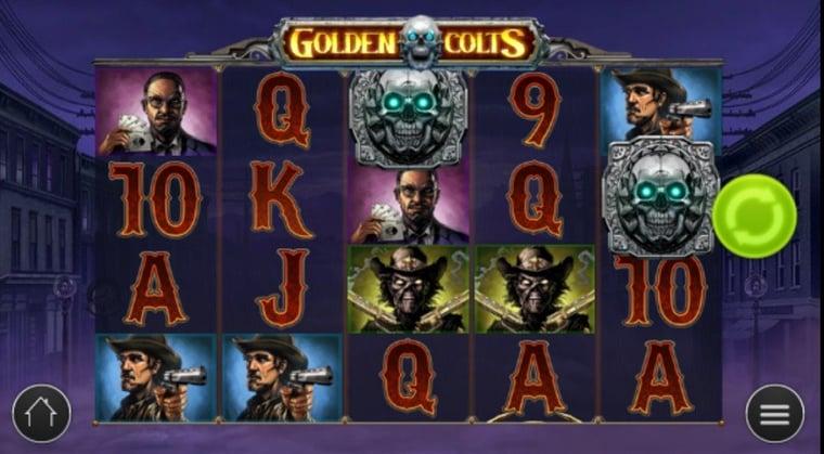 Play'n GOs nya spel Golden Colts erbjuder sju olika bonusar