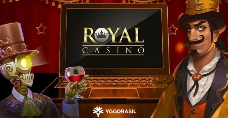Yggdrasil inleder samarbete med danska Royalcasino.dk
