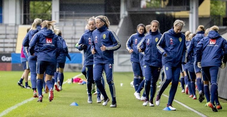 Sverige spelar VM-genrep mot Sydkorea på fredagskvällen