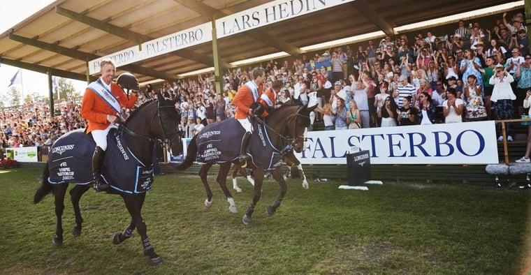 Falsterbo Horse Show öppnar för spel med ATG