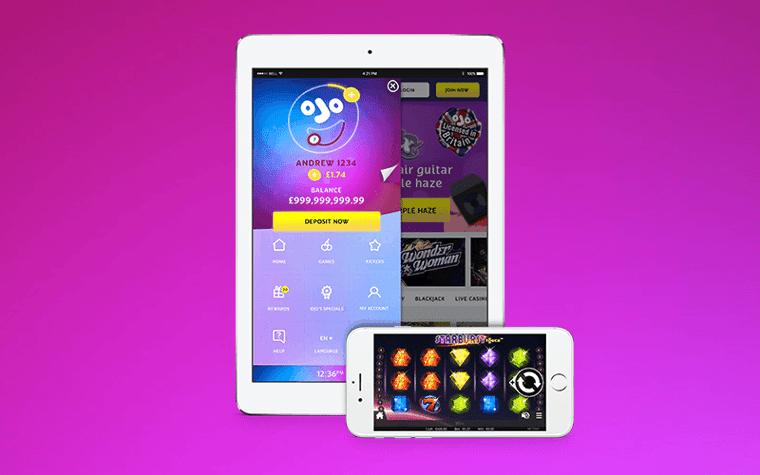 PlayOJO uppdaterar iOS app: ny look, fler spel & buggfixar