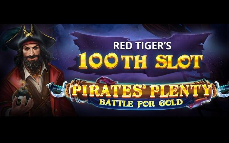 Pirates' Plenty: Battle for Gold – Red Tigers 100:e slot