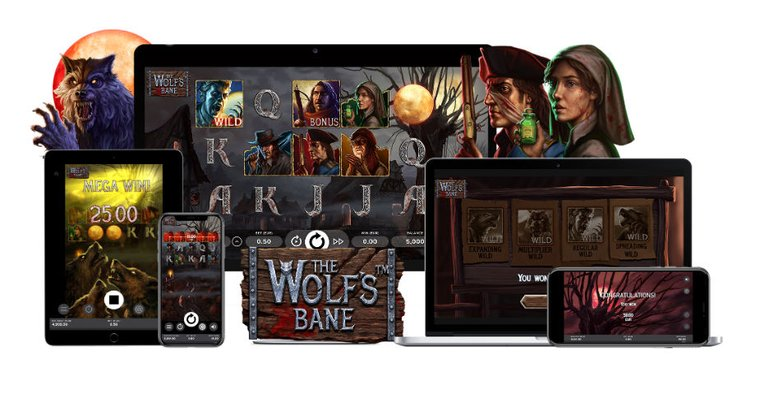 Ny skräckslot från NetEnt: The Wolf's Bane