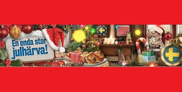 Uppladdning inför jul i svenska mobilcasinon