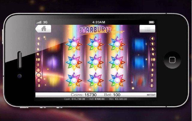 Massor av Starburstsnurr och smidig sms-betalning i mobilen