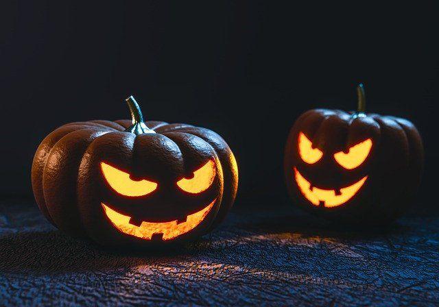 Läskigt halloweenfirande i casino för Android
