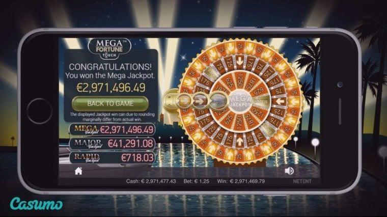 Svensk Casumo vinner jackpott i casino app!