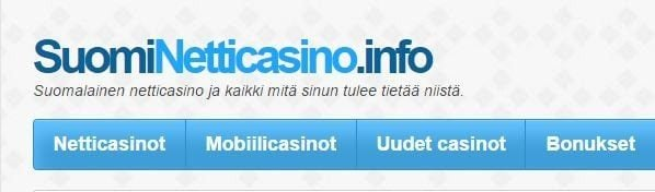 Suomi netticasino? Casino i Finland!
