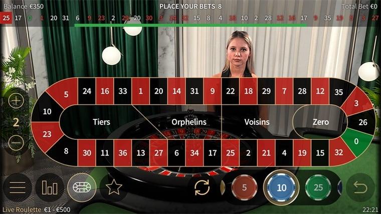 NetEnt lanserar ny mjukvara för Live Roulette i mobilen