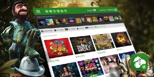 Vinn genom registrering i Unibets casino för iPhone