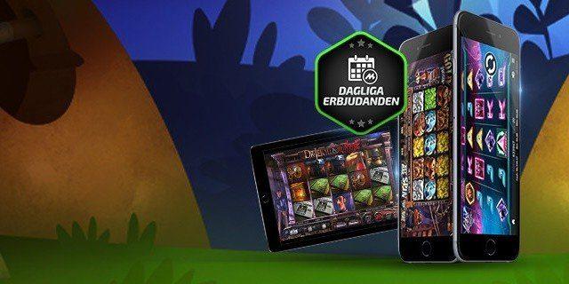 Gratisspinn i din iPad och surfplatta hos Mobilbet casino
