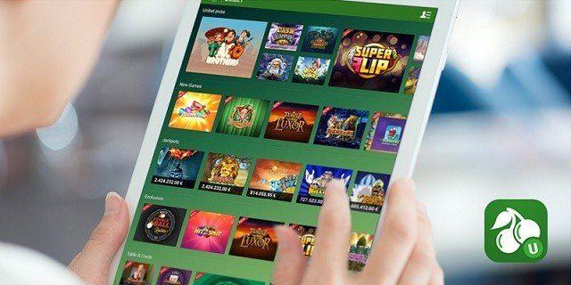 Unibet har tre casinoappar för spel med riktiga pengar!