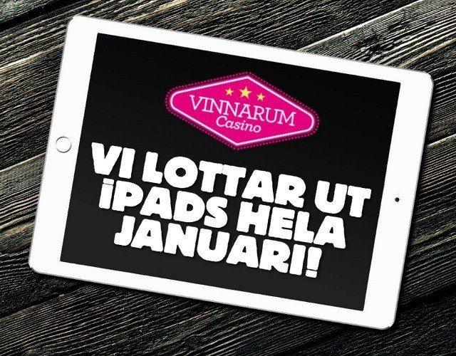 Spel iPad casino med Vinnarum i år